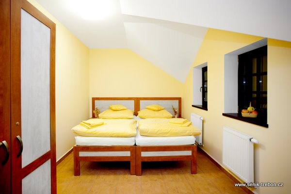 Ložnice v Penzionu.